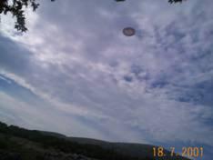 Ovni du Col de Vence  une zone de canulars fréquents Image008