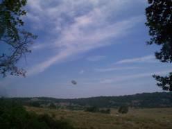 Ovni du Col de Vence  une zone de canulars fréquents Image024
